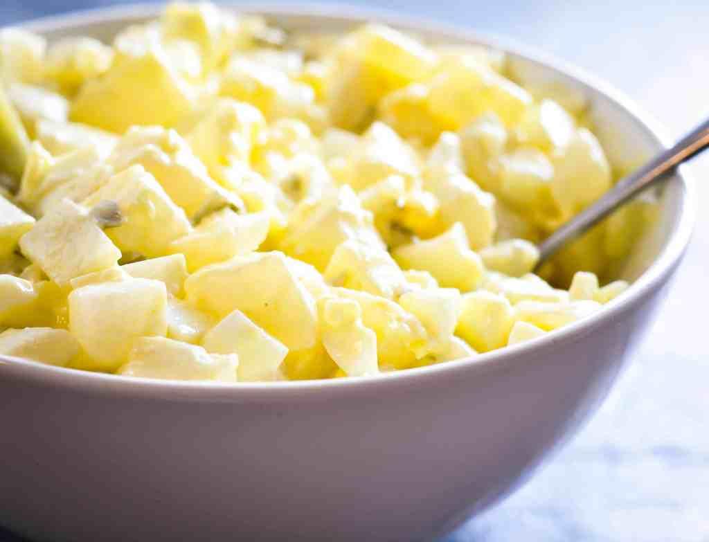 Keto Potato Salad Recipe - Low Carb Turnips instead of High Carb Potato!