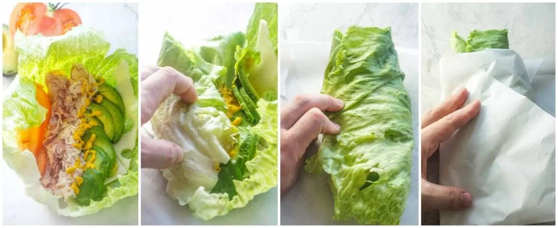 Homemade Unwich   Lettuce Wrap   Low Carb Sandwich   Keto Recipes
