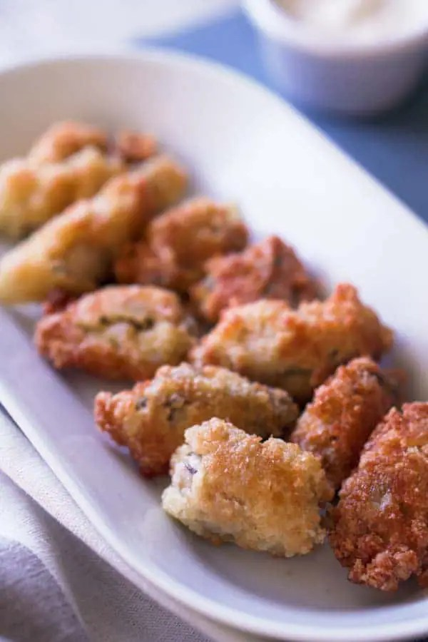 Keto Fried Oysters Recipe - Gluten Free, Low Carb
