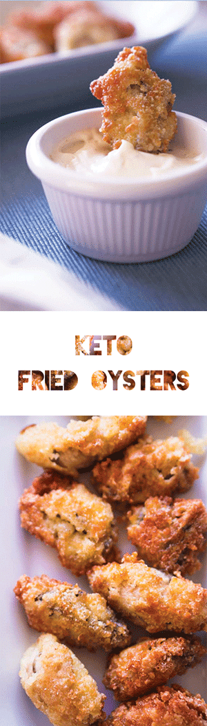 Keto Fried Oyster Recipe - Low Carb, Gluten Free, EFFING DELISH