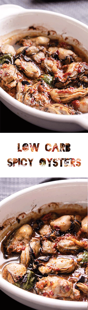 Low Carb Keto Oyster Recipe - Broiled & Spicy!