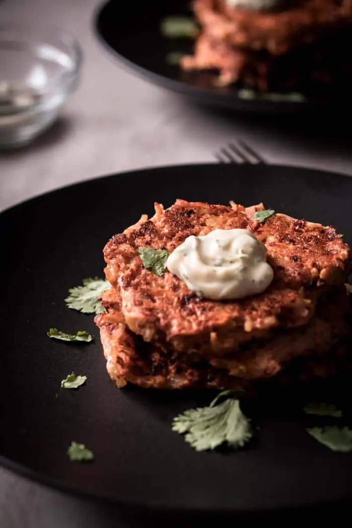 Easy Chicken Fritters - Low Carb, Keto, & Spicy!