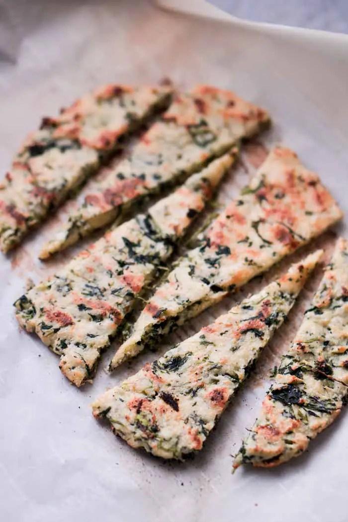 Gluten-Free Low Carb Flatbread Recipe - Keto Friendly!