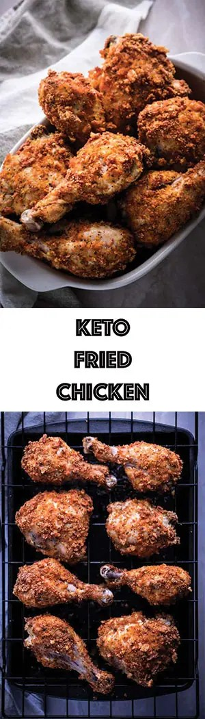 Keto Fried Chicken Recipe Baked In Oven Ketogasm