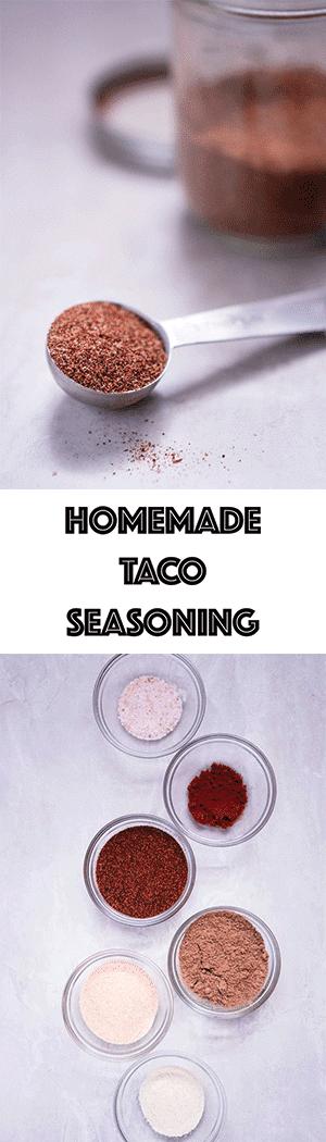 Taco Seasoning Recipe - Low Carb, Sugar-Free, Keto Friendly