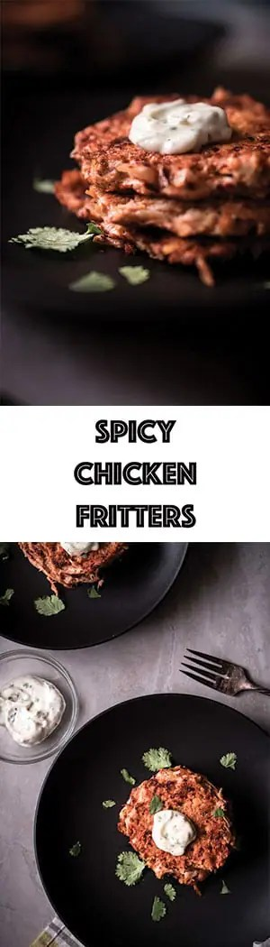 Spicy Chicken Fritters Recipe - Low Carb, Keto, Gluten Free
