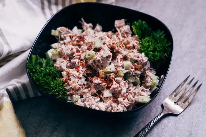 Turkey Salad Recipe [Low Carb, Keto, Dairy Free]