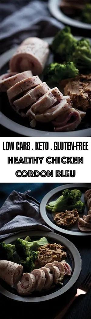 Super Easy Healthy Chicken Cordon Bleu - Low Carb, Keto, Gluten-Free, Sous Vide!