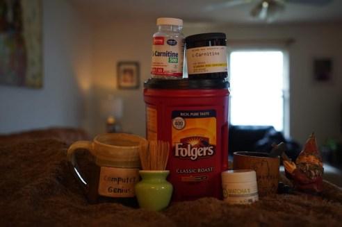 Coffee, carnitine and matcha green tea helps keto