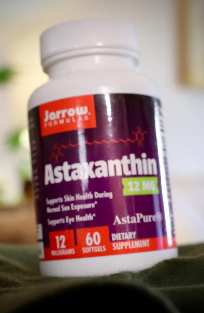 Astaxanthin stops oxidation