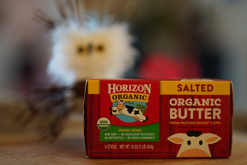 Horizon pasture raised butter is keto friendly