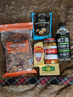 MCT oil and macadamia nuts