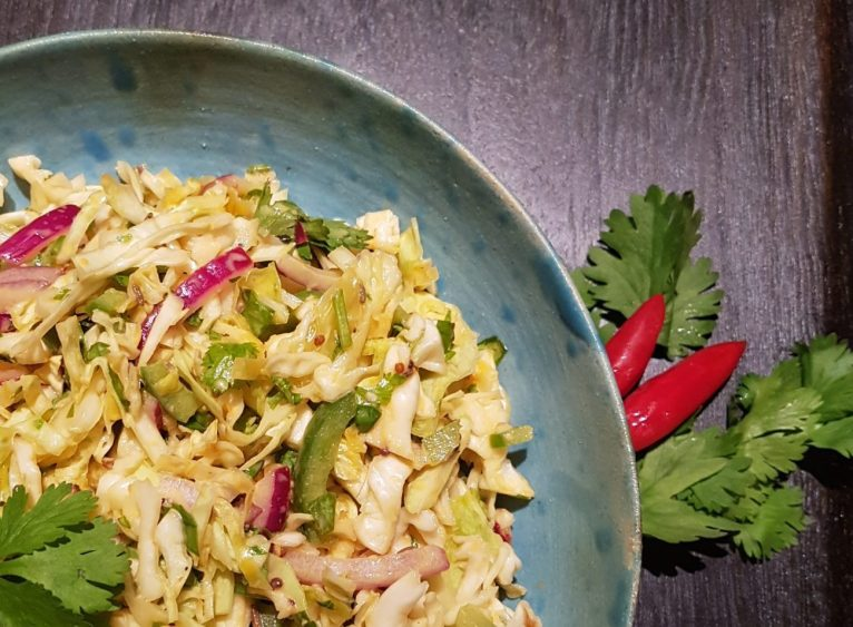 Low Carb Mexican Slaw