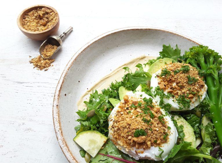 Dukkah Egg Food Bowl
