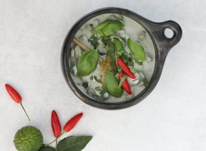 Low Carb Green Chicken Curry