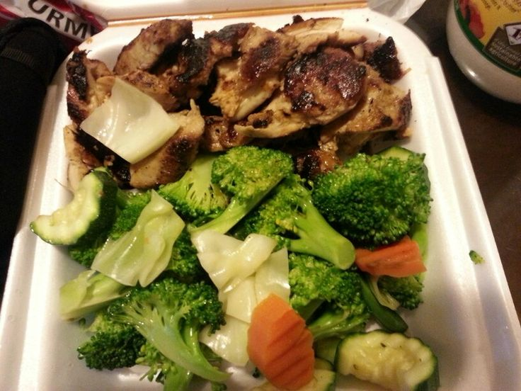 Panda Express Low Carb Options, Grilled Teriyaki chicken with vegetables
