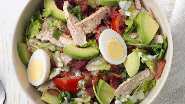 Green Goddess Cobb Salad, Panera Low Carb Options