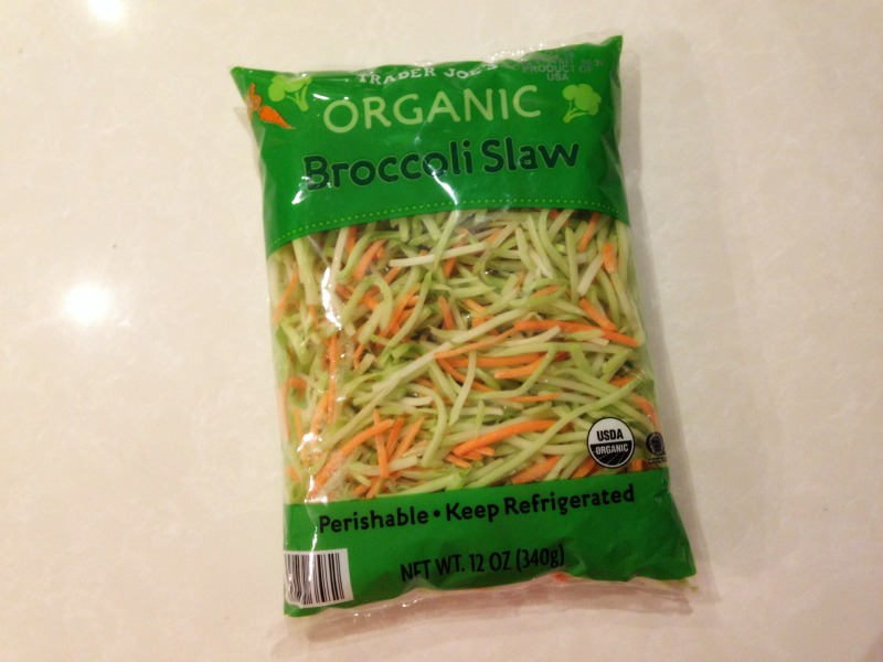 trader joe's organic broccoli slaw, trader joe's keto