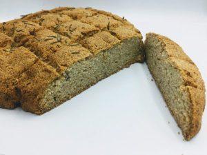 Keto brood met kokosmeel en rozemarijn2