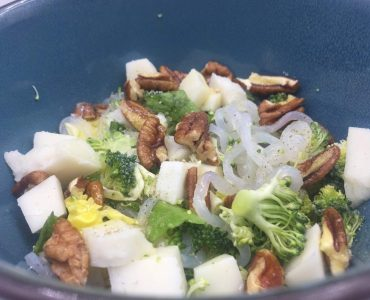 koude noodle salade