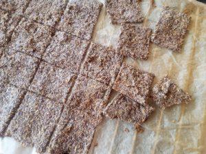 keto lijnzaad crackers