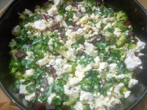 Groententaart feta broccoli