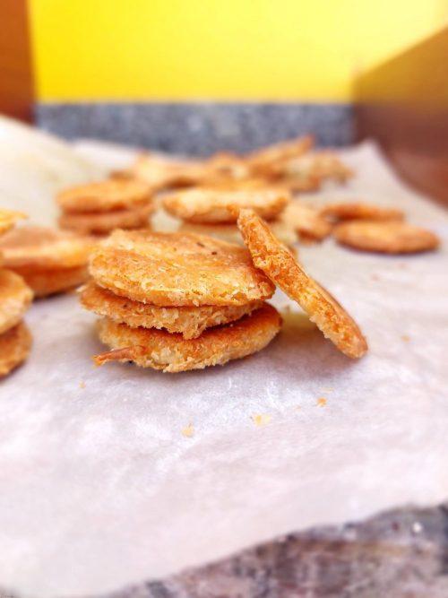 Gezouten aperitief crackers