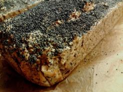 whole loaf with poppy seeds
