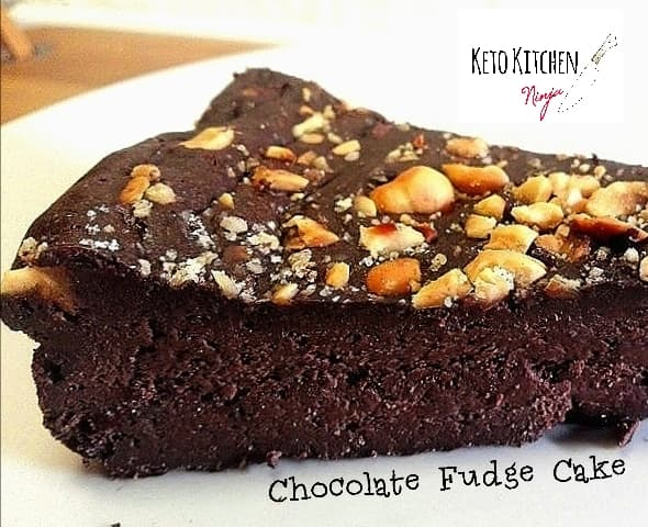Keto Chocolate Fudge Cake