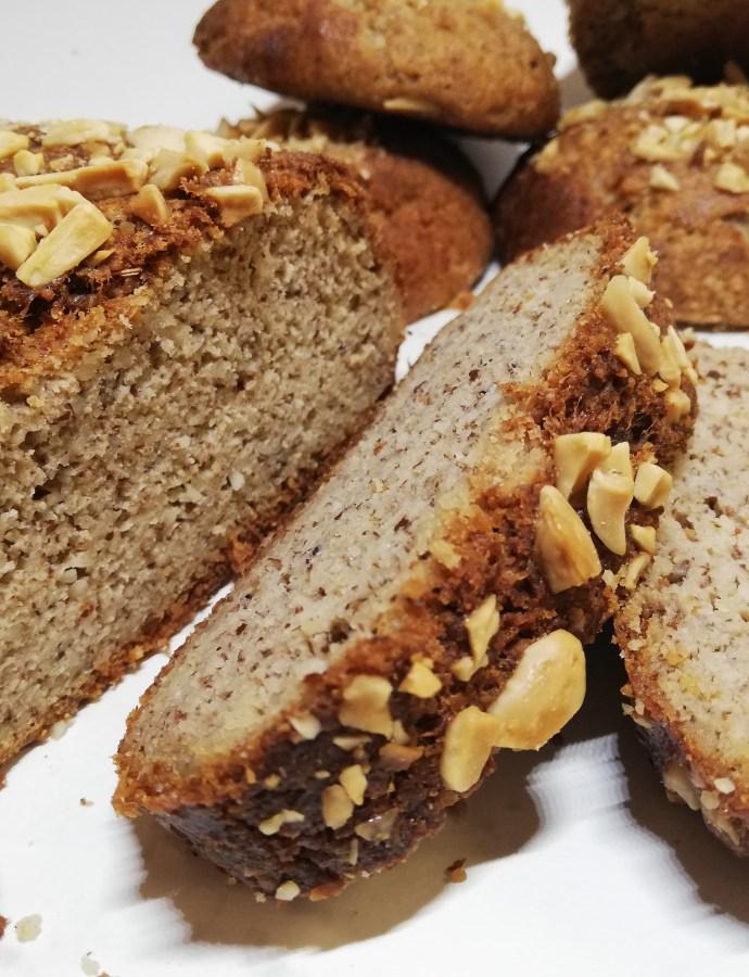 Ψωμί με αλεύρι αμυγδάλου και τραγανή κόρα