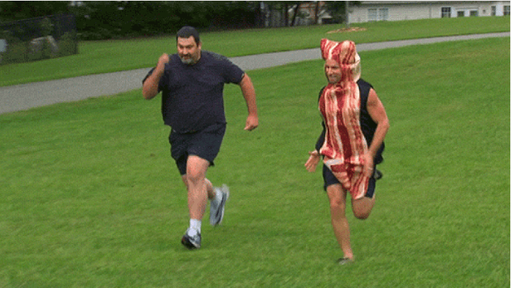 Fat Burning Man, Abel James, Running In A Bacon Costume On ABC?