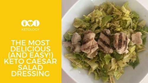 keto caesar salad dressing