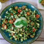 Keto Hemp Hearts Tabbouleh Keto Low Carb Vegetarian Recipes