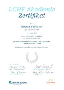 Zertifikat Ganzheitlicher Gesundheits- & Ernährungscoach
