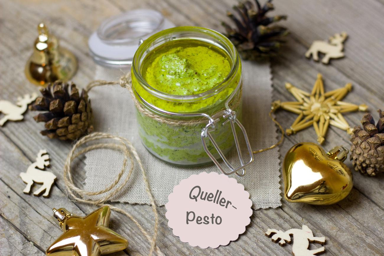 Grün, jodhaltig, lecker: Quellerpesto