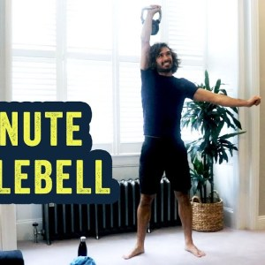 15 Minute Home Kettlebell Home HIIT | The Body Coach TV