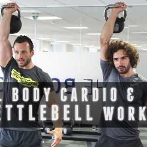 18 Minute Full Body Kettlebell & Cardio Workout | The Body Coach with Technogym Master Trainer
