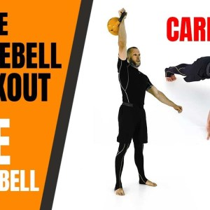 Simple Kettlebell Cardio Workout WITH ONE KETTLEBELL