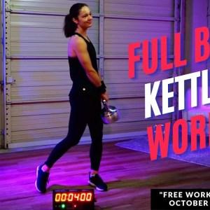 30-Minute FIRE!  Kettlebell Workout