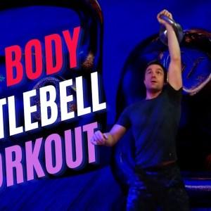 40-Minute Full Body Kettlebell Workout (Follow-Along)