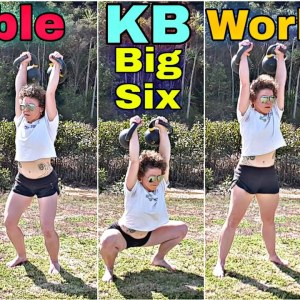BIG SIX Double Kettlebell Workout | Full Body in 10 minutes