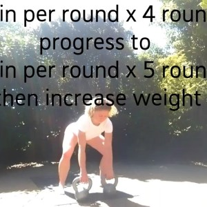 Double Kettlebell Complex - full body workout