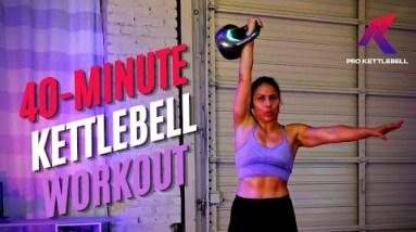 Full Body Kettlebell Strong & Sweaty Workout