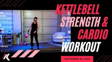 Full-Body Killer Kettlebell Strength & Cardio Workout