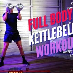 Full Body Single Kettlebell Strength & Tone Workout