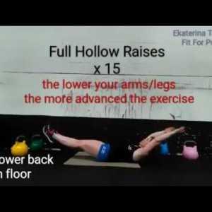 Gymnastics Core Training 'the 15'