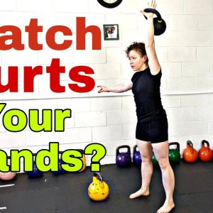 Kettlebell Snatch - Avoid Ripped Hands 👐