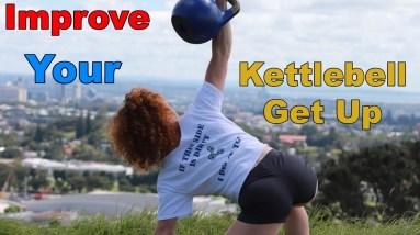 Kettlebell Turkish Get Up   Top Half