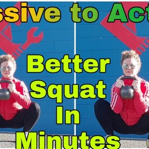 Passive to Active | Kettlebell Prying Squat
