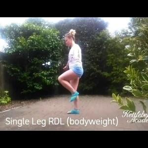 Single Leg Romanian Deadlift | Technique